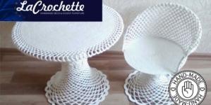 La Crochette | Table + Chair Set