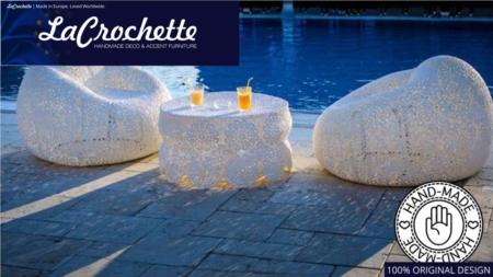 La Crochette  |  Crochet Pool Furniture